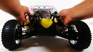 1/8 Scale RC Car, HSP 94060 PLANET Brushless - UNBOXING