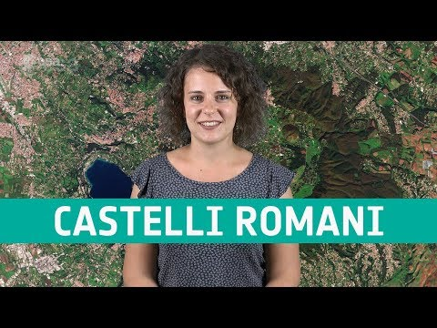 Earth from space: Castelli Romani