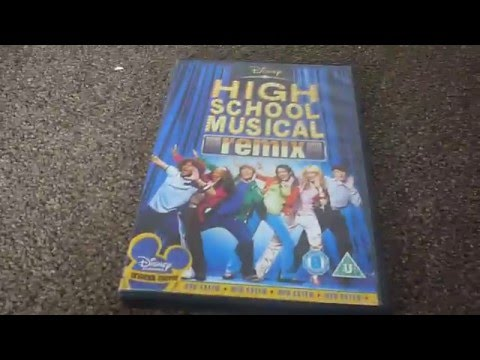 High School Musical Remix (UK) DVD Unboxing