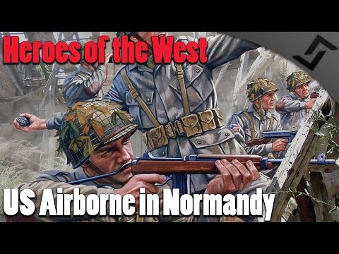 Heroes of the West RO2 Mod  US Airborne in Normandy  USA vs Germany Gameplay Red Orchestra 2