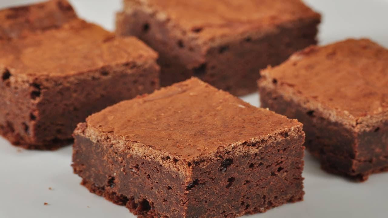 Fudgy Chocolate Brownies Joyofbaking Com Video Recipe