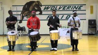 SNARE BATTLES 3/8/2014 Mansfield Annual Battle of the drum lines GPHIW GODS OF WAR
