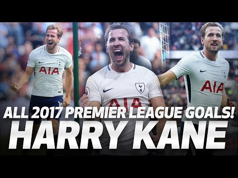 HARRY KANE | ALL 39 PREMIER LEAGUE GOALS IN 2017