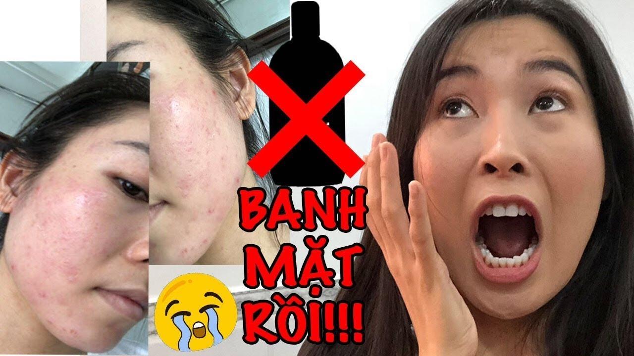 CHAI NƯỚC TẨY TRANG KHIẾN TUI… BANH MẶT !!! |VLOG|  NA VI