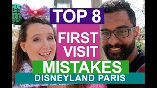 8 DISNEYLAND PARIS TIPS FOR FIRST TIME VISITORS | common made first visit mistakes | tips & tricks