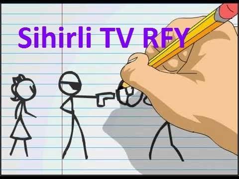 Kısa Çizgi Film Denemesi Sihirli TV RFY