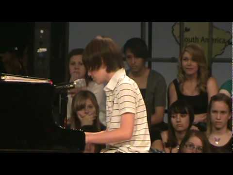 Greyson Chance Singing Paparazzi + Mp3 Download