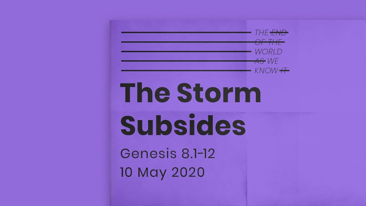 The end of the world as we know it // The storm subsides Cover Image
