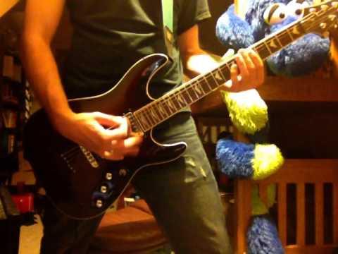Skillet  Fingernails guitar