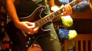 Skillet - Fingernails guitar cover