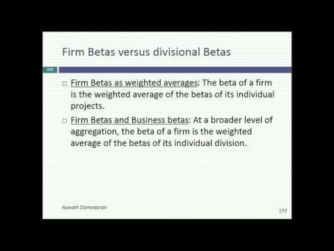 Session 9: Bottom Up Betas