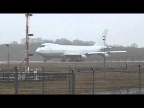 Air Atlanta Boeing 747-200 Departing From Luxembourg/Findel