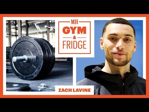 Zach LaVine Shows His Gym & Fridge | Gym & Fridge | Men's Health thumbnail