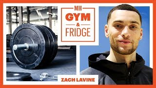 Zach LaVine Shows His Gym & Fridge | Gym & Fridge | Men's Health