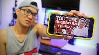 How to make Youtube Thumbnail | Android | TUTORIAL *Tagalog