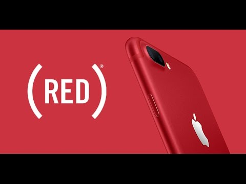 Unboxing iPhone 7 plus 128gb Red Edition