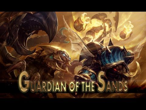League of Legends: Guardian of the Sands Rammus (Skin Spotlight)