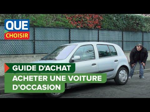 Acheter une voiture d'occasion - Guide d'achat