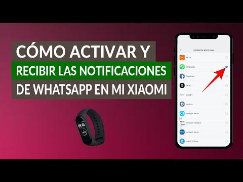 Cómo Activar y Recibir las Notificaciones de WhatsApp en mi Xiaomi Mi Band