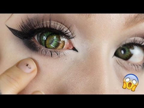 Wearing TWO pairs of Circle lenses at once?