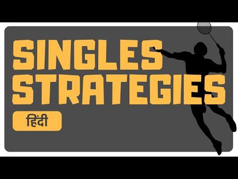 Badminton STRATEGIES – 4 Basic Tips For SINGLES – Badminton School Hindi