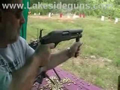Sawed Off Semi Auto Shotgun