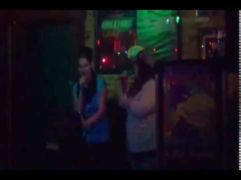Jess & Kinsey  singing, Before He Cheats, (in the style of) Carrie Underwood
