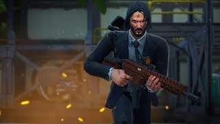 TORN WITH THE TORN JOHN WICK! VERY REALISTIC STYLE! Fortnite