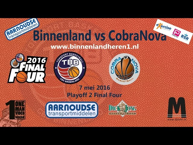 Binnenland Heren 1 vs CobraNova