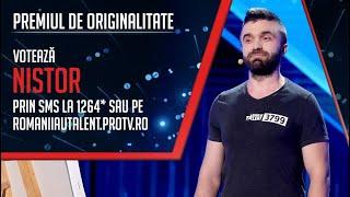 Românii au talent! ȘTEFAN NISTOR   Cum textul anumitor melodii poate fi perceput altfel! 4K