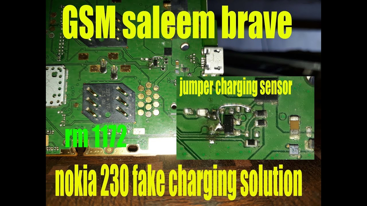 How to Fake charging problem Charging IC problem solution