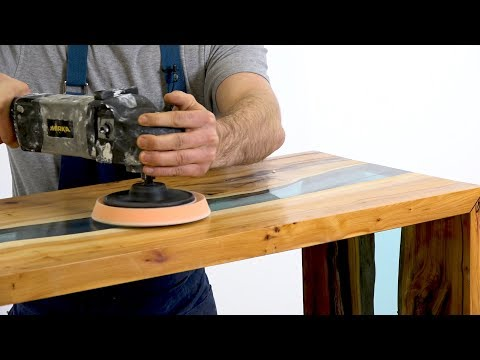 How to Make a Resin River Table Using Clear Epoxy Resin