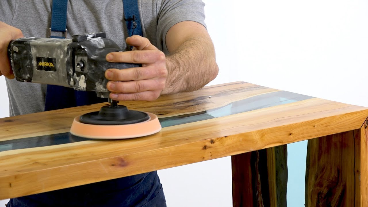 How To Make A Resin River Table Using Clear Epoxy