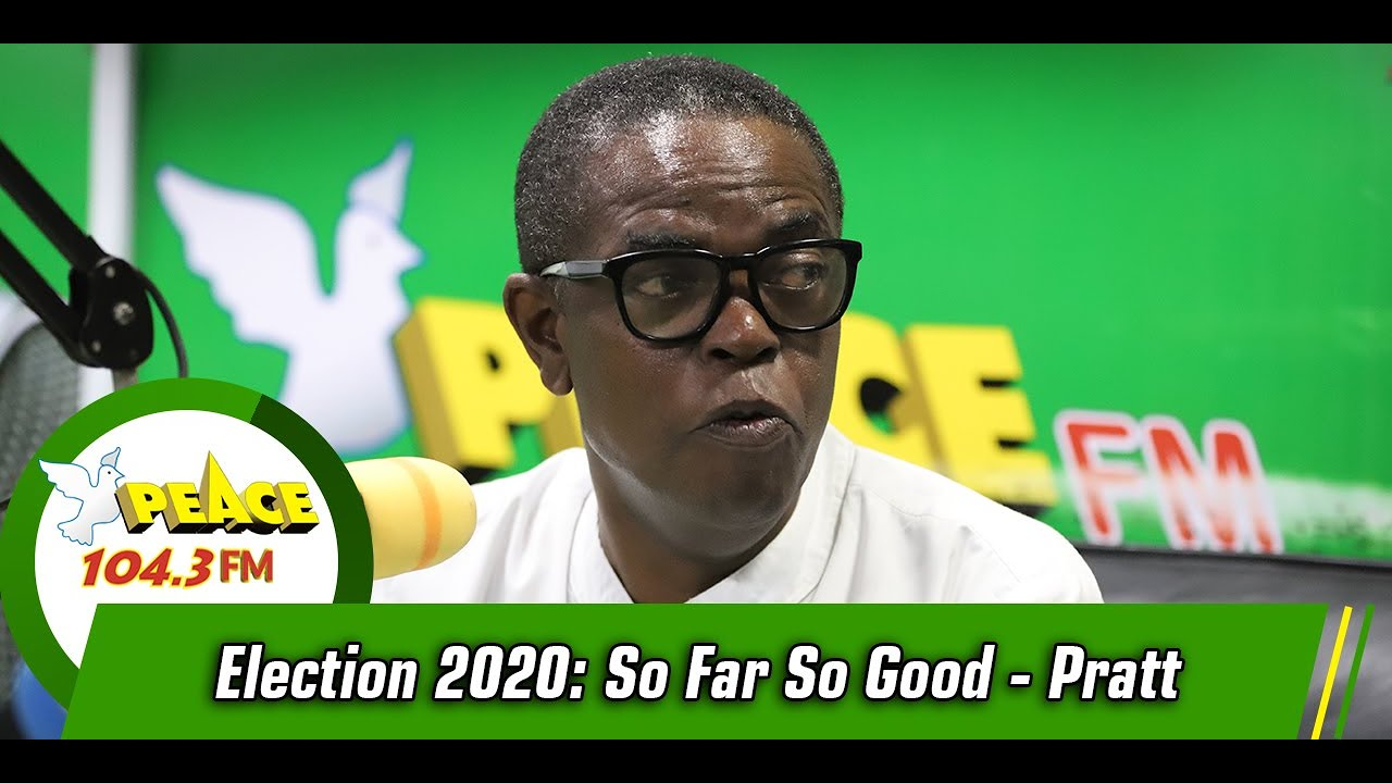 Election 2020: So Far So Good - Pratt