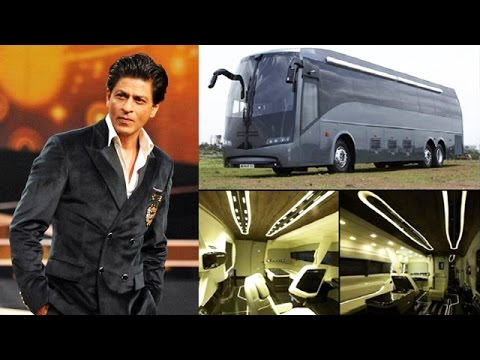 INSIDE LOOK Of Bollywood Stars Lavish VANITY VANS | Shahrukh Khan, Salman Khan