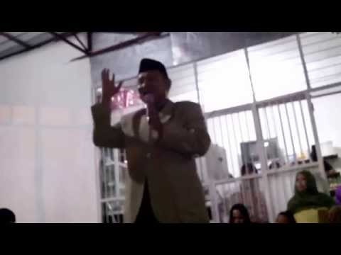 Ceramah Takziah Ustadz Mansyur H. Lipung