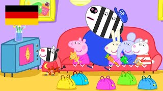 Peppa Wutz | Übernachten - Zusammenschnitt | Peppa Pig Deutsch Neue Folgen | Cartoons für Kinder