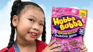Bịch Kẹo Hubba Bubba Của Bạn ❤Susi kids TV❤