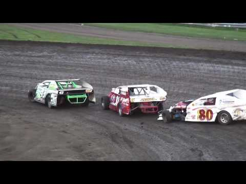 IMCA Modified feature Benton County Speedway 7/24/16