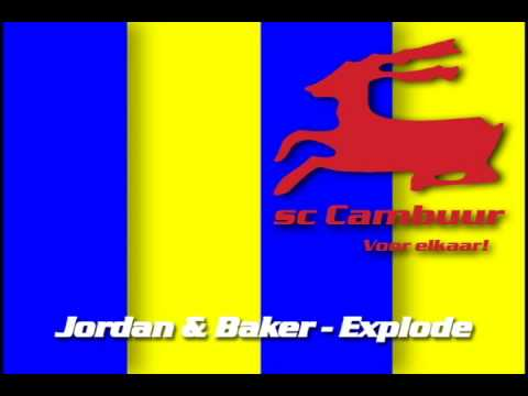 Opkomst muziek/ intro: sc Cambuur Leeuwarden (Jordan & Baker - Explode)