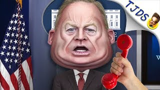 Sean Spicer  Desperately Trying To Stay Relevant