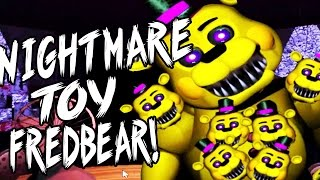 NIGHTMARE TOY FREDDY JUMPSCARE! | One Night at Springtraps | Night 1