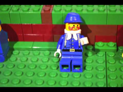 Blue and Gray: An American Civil War Brickfilm Part 1