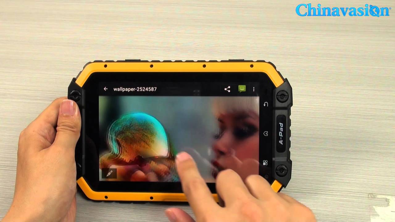 Let S Rugged Mfox Apad Rugged 4g Tablet Waterproof Test