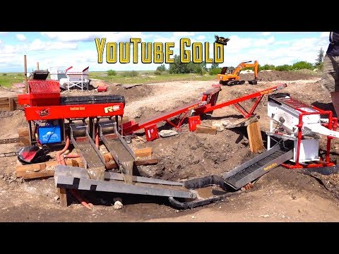 YouTube GOLD - IS THIS A JOKE?  (s2 e12) Miniature Gold Mining  | RC ADVENTURES