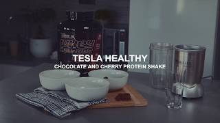 Tesla Healthy - Chocolate & Cherry Protein Shake