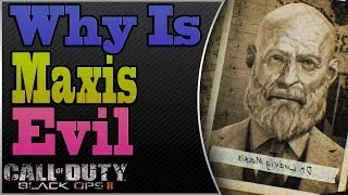 Why Maxis is Evil | Maxis Back Story Explained | Mob of the Dead Perks Explained