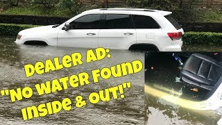 """Dealer Selling Flood Cars with """"NO Evidence of Water ANYWHERE"""" Exposed!"""