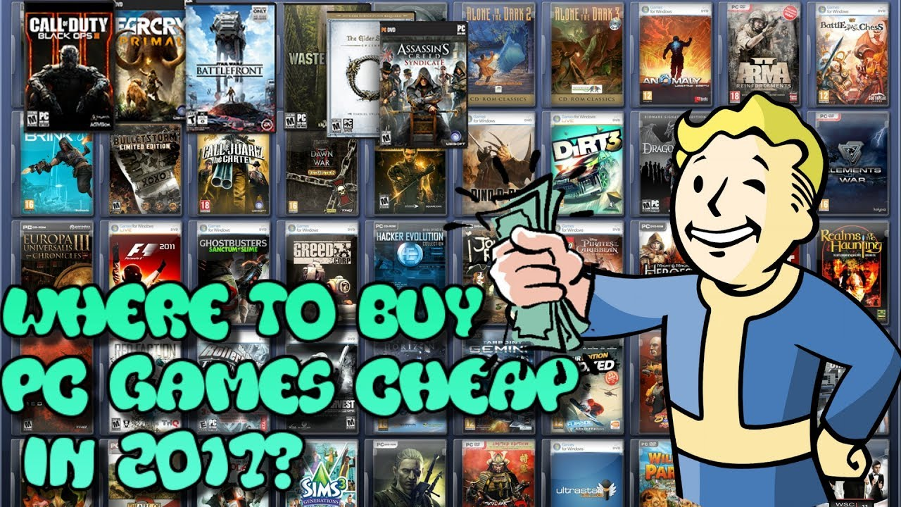 where to buy cheap pc games cheap 2017 how to save money on pc