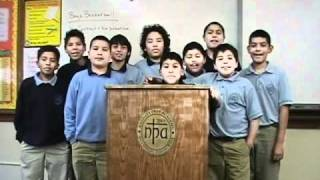 Nativity Prep Academy Christmas Message 2010